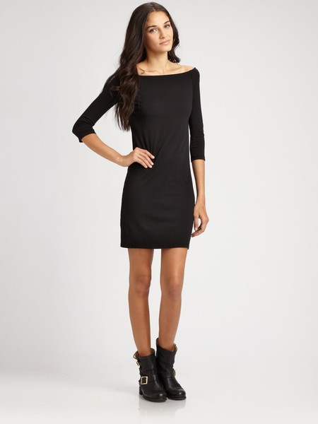 James Perse Scoopneck Dress