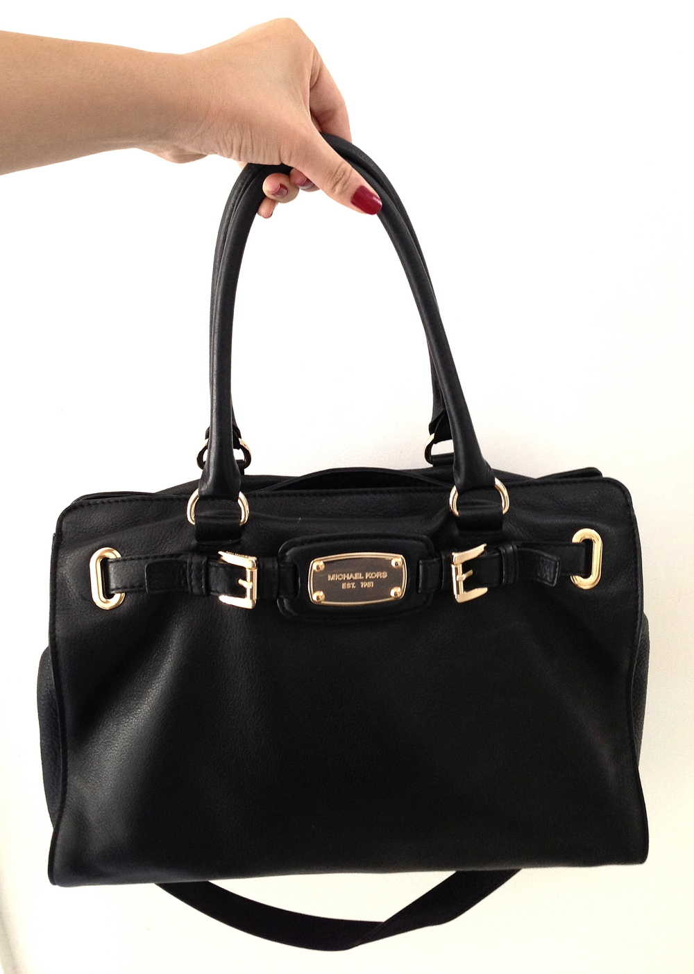 Michael Kors Hamilton East/West Leather Tote