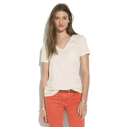 V-Neck Pocket Tee by Madewell
