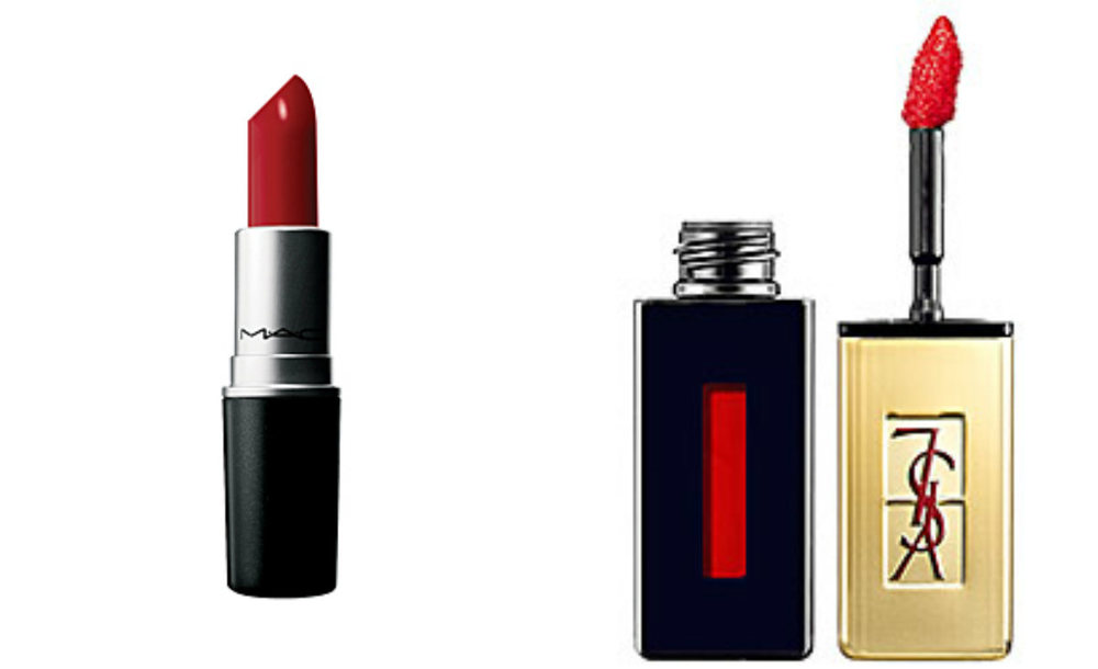 Get some trusty red lips!