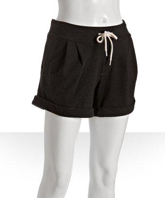 Monrow Cuffed Fleece Sweat Shorts