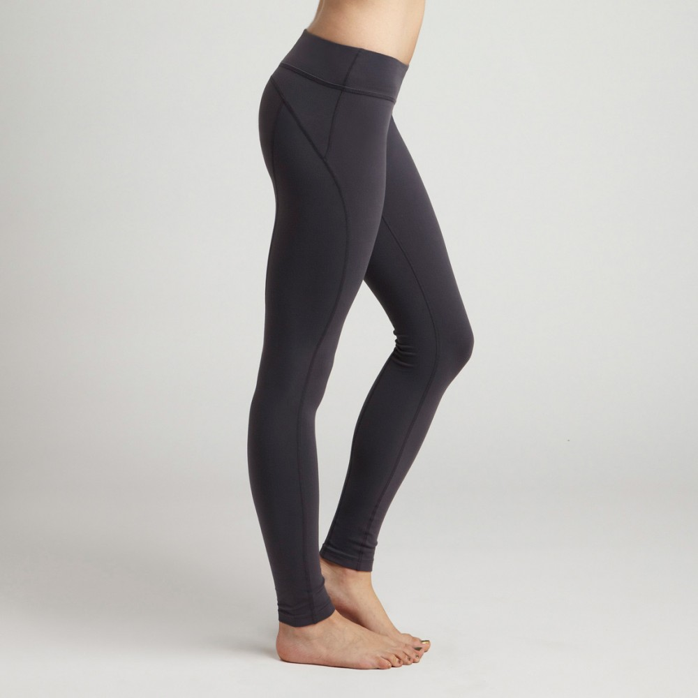 Beyond Yoga Side Panel Striped Long Leggings