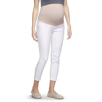 Liz Lange for Target Maternity Skinny Jeans in White