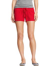 Old Navy Linen-Blend Drawstring Shorts