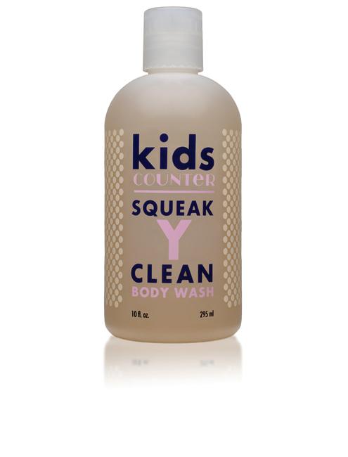 KidsCounter Squeaky Clean Body Wash