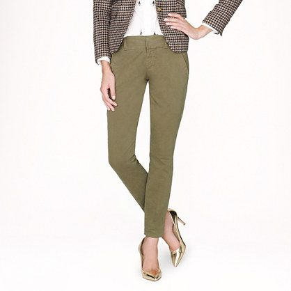 The Andie Chinos by J. Crew
