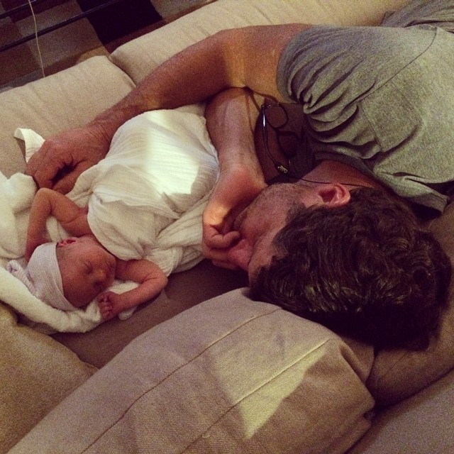 Still relishing Reese's birthday week... Captured this sweet moment #oneyearagotoday, the one of many new and wonderful #fathersonmoments
