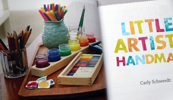 Little Artists Handmade  by Carly Schwerdt (Penguin 2011)