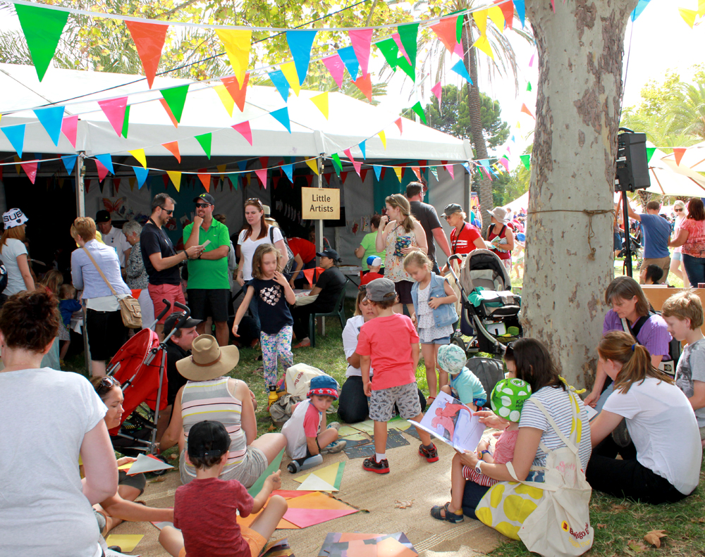 Adelaide Festival Writers' Week Kids' Weekend 2015
