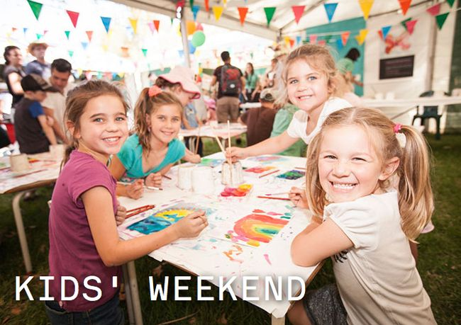 Pop the dates in your diary for 2016 - it's a super fun and creative weekend for the whole family, filled with books, authors, illustrators and art!
