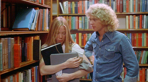 William katt and Sissy Spacek in CARRIE