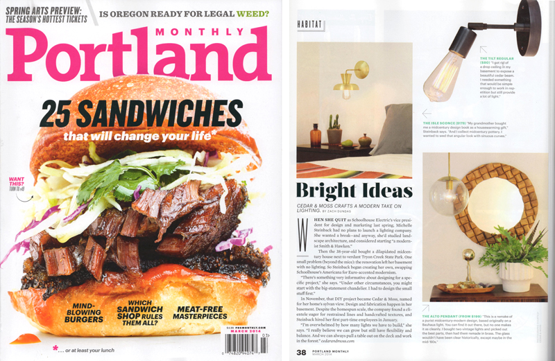 Portland Monthly March 2014