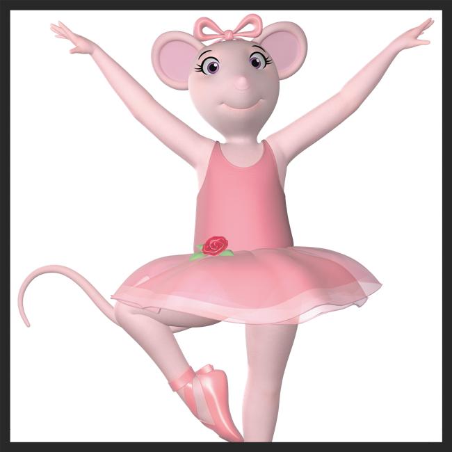 Click to learn about Angelina Ballerina Classes for 3-6 Year Olds