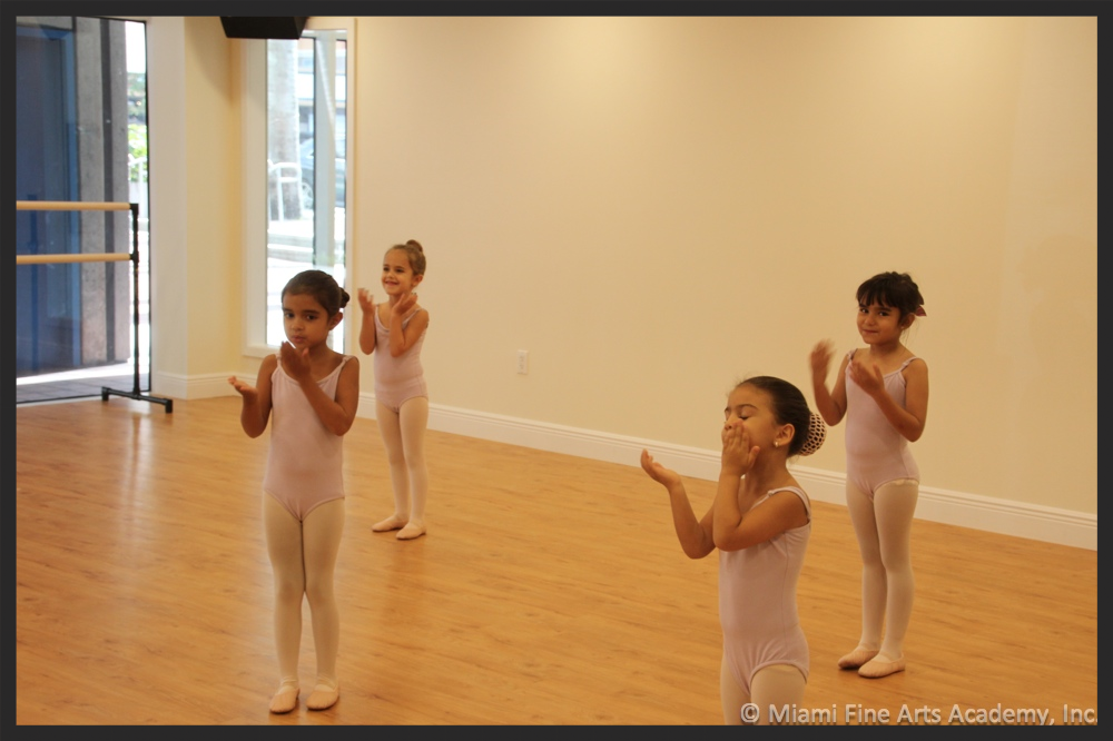 Division II - 5-Year Old Ballet Class at Miami Fine Arts Academy