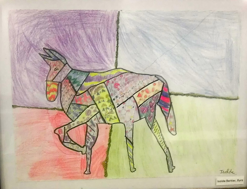 BY: ISOLDE BATTER, AGE 8, COLOR PENCIL