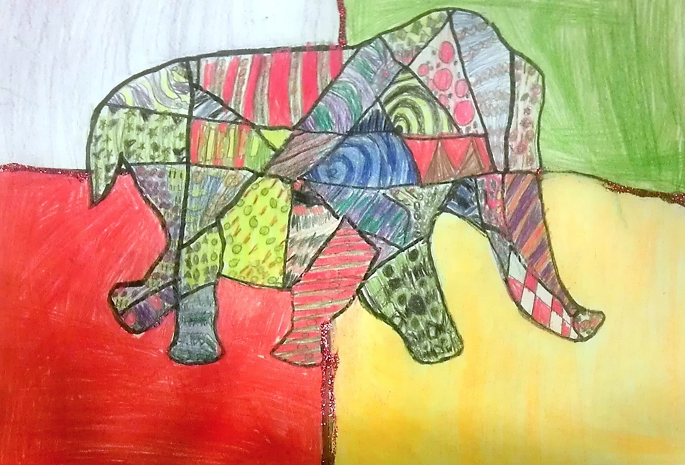 BY: ANTONIA OSORIO, AGE 7, COLOR PENCIL