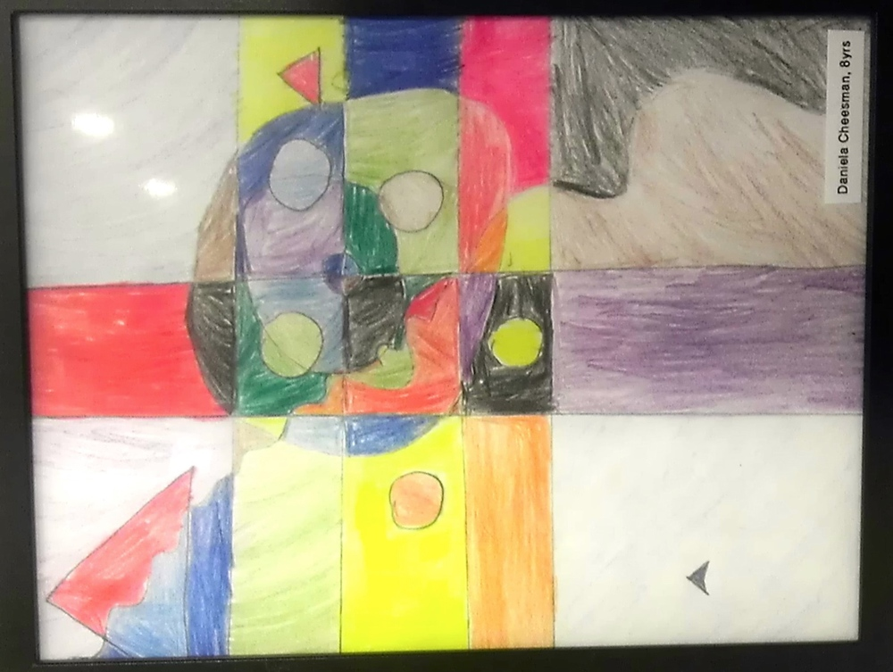 BY: DANIELA CHEESMAN, AGE 8, COLOR PENCIL