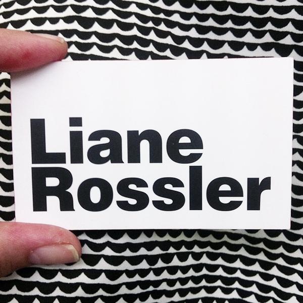 Liane Rossler Creative & Retail Advisory