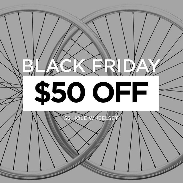 Once a year we love to give the best value deals during Thanksgiving weekend. Slap on a new fresh pair of wheels to your ride and save big! Up to 75% OFF online now!  Shop at: www.vivosbikes.com