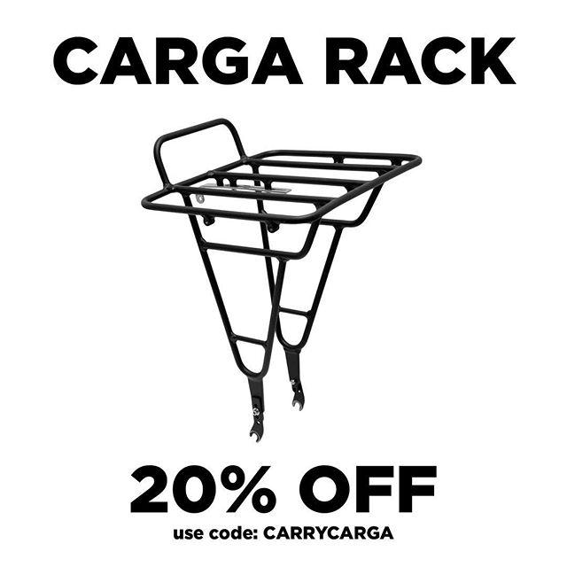 Starting off the holiday season featuring our popular Carga Rack with a 20% OFF coupon upon checkout.  Shop at: www.vivosbikes.com