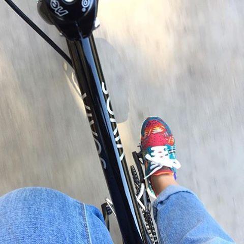 @ielar commuting to work daily using the Vida. #ridevivos