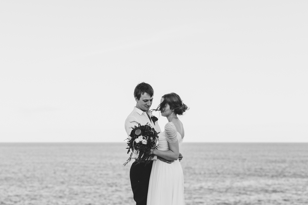 Sam & Leah - Coastal, Kurnell, Winter Wedding-133.jpg
