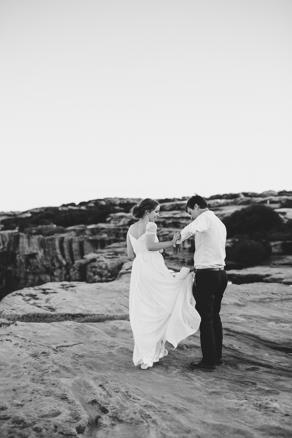 Sam & Leah - Coastal, Kurnell, Winter Wedding-141.jpg