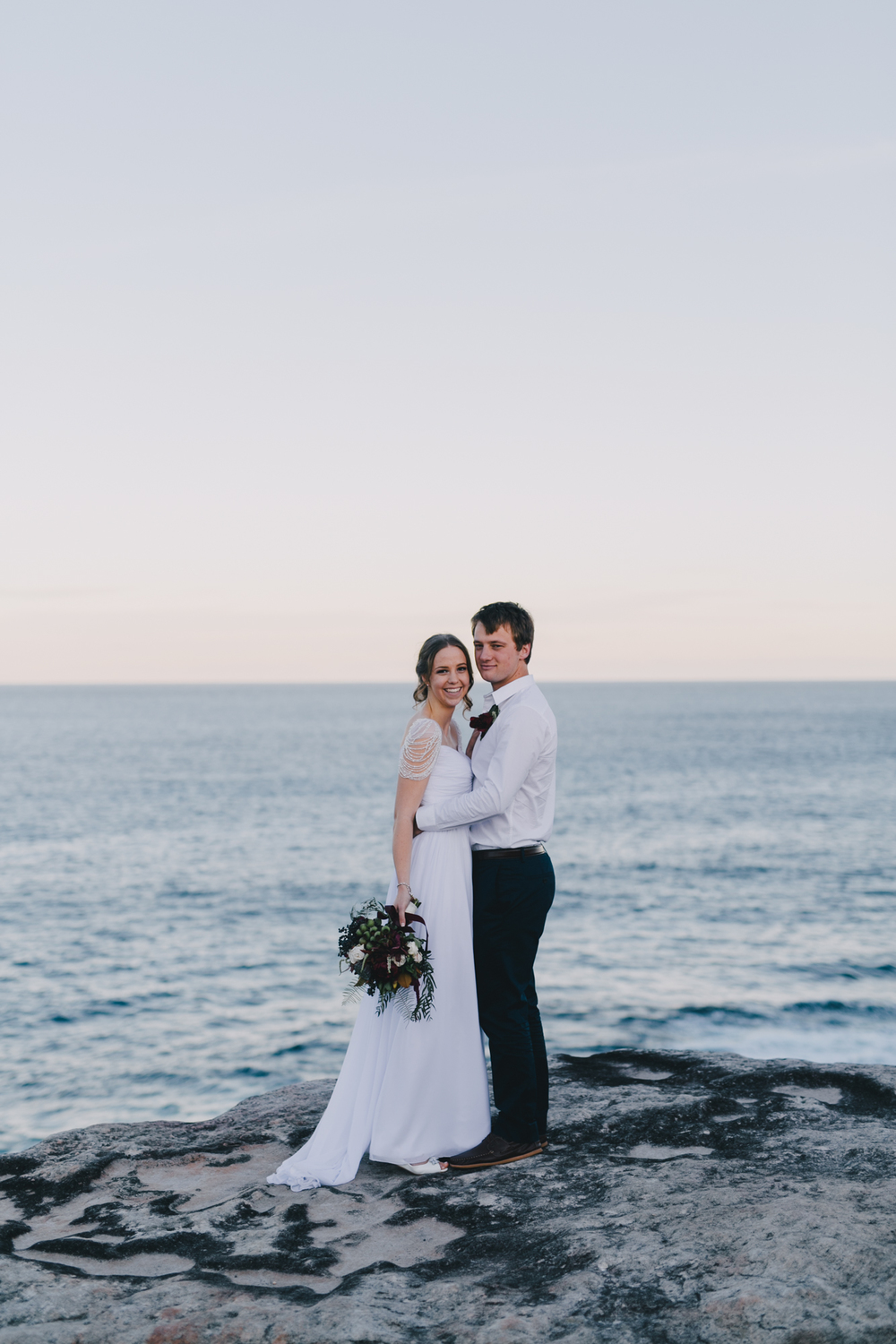 Sam & Leah - Coastal, Kurnell, Winter Wedding-147.jpg