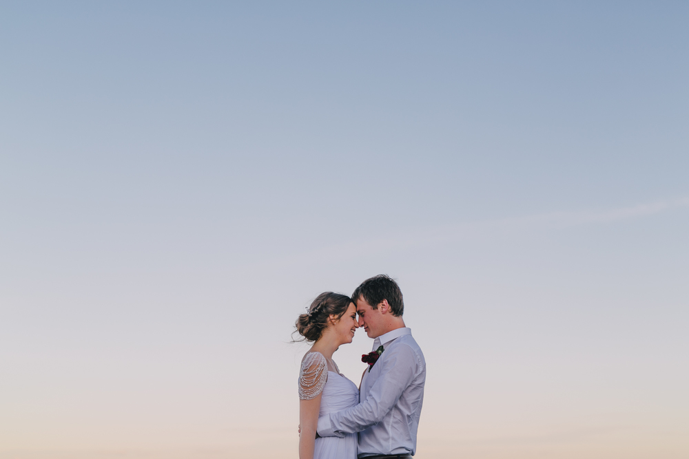 Sam & Leah - Coastal, Kurnell, Winter Wedding-149.jpg