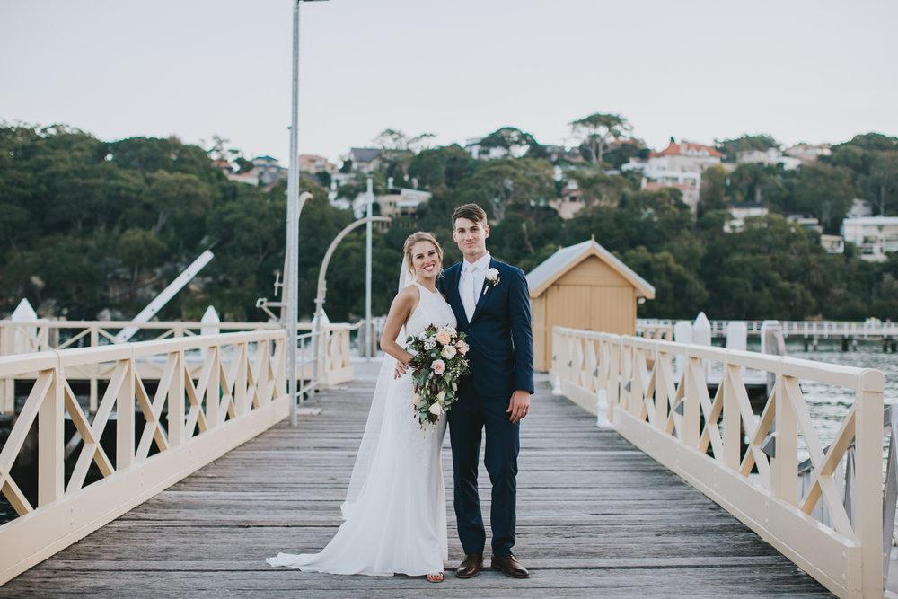 Claire & Ryan - North Shore, Chowder Bay Wedding - Samantha Heather Photography-155.jpg
