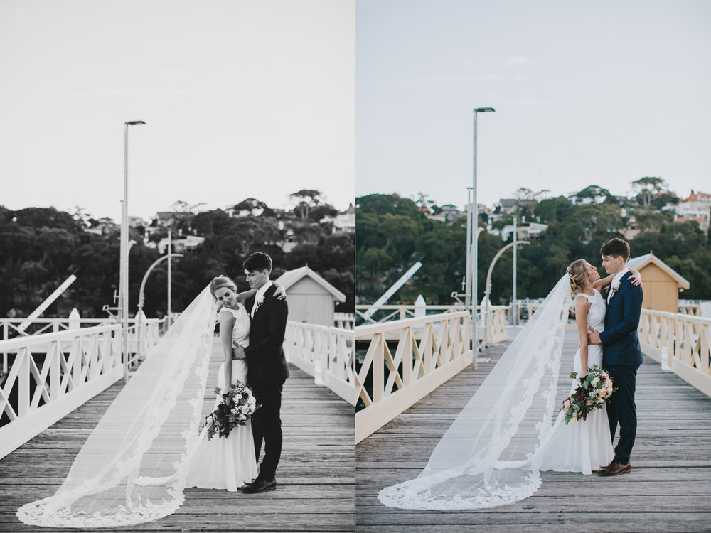 Claire & Ryan - North Shore, Chowder Bay Wedding - Samantha Heather Photography-157.jpg