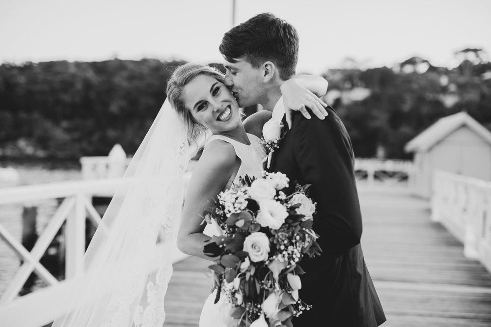 Claire & Ryan - North Shore, Chowder Bay Wedding - Samantha Heather Photography-160.jpg