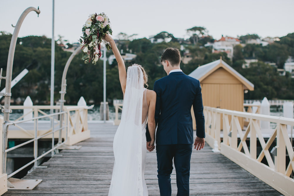 Claire & Ryan - North Shore, Chowder Bay Wedding - Samantha Heather Photography-161.jpg