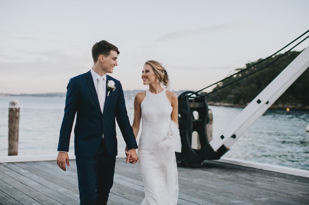 Claire & Ryan - North Shore, Chowder Bay Wedding - Samantha Heather Photography-177.jpg