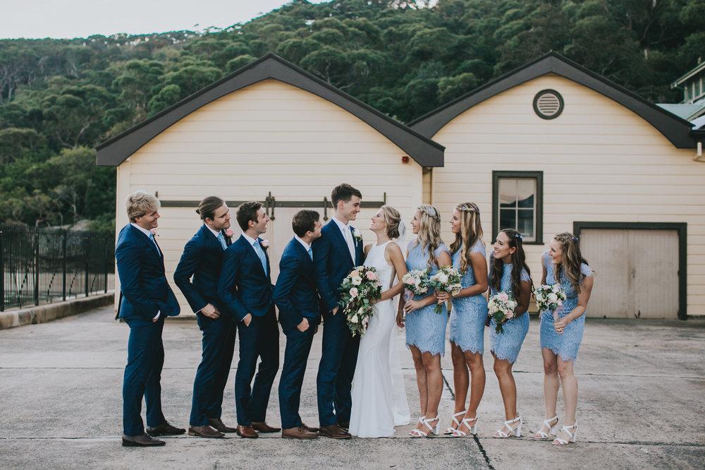 Claire & Ryan - North Shore, Chowder Bay Wedding - Samantha Heather Photography-200.jpg