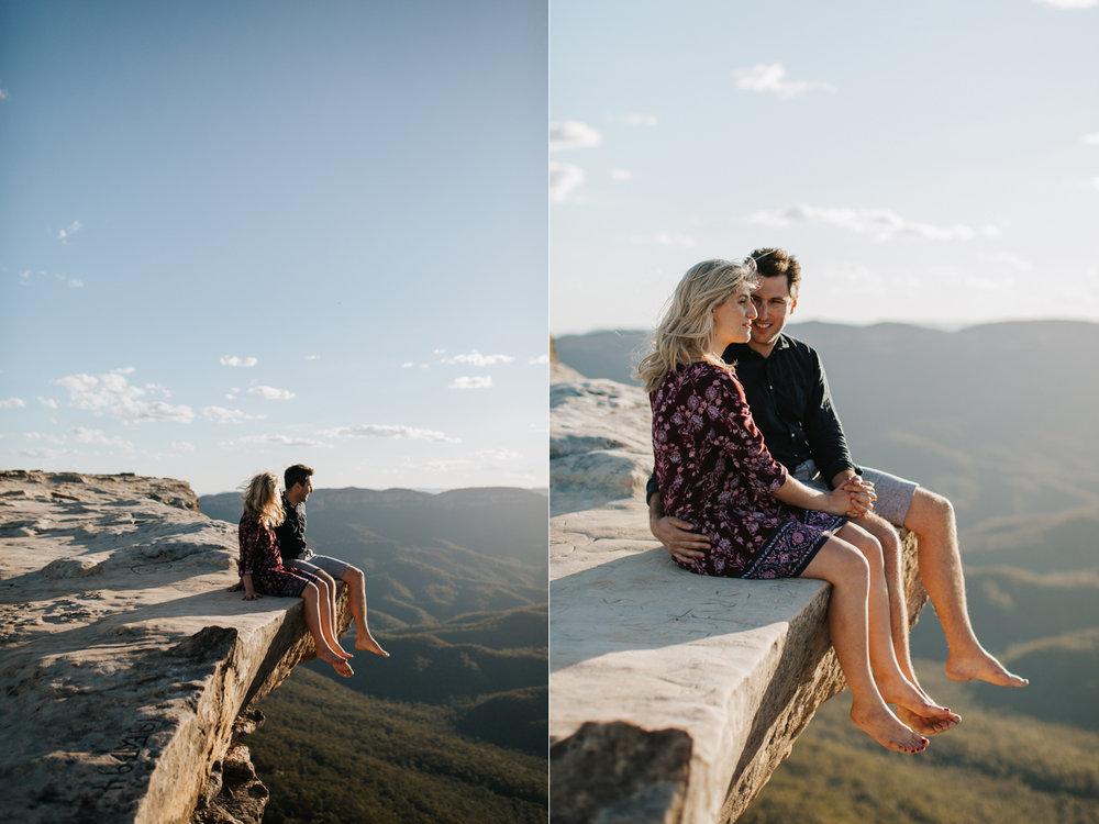 Emma & Ben - Blue Mountain Sunset Engagement - Samantha Heather Photography-11.jpg
