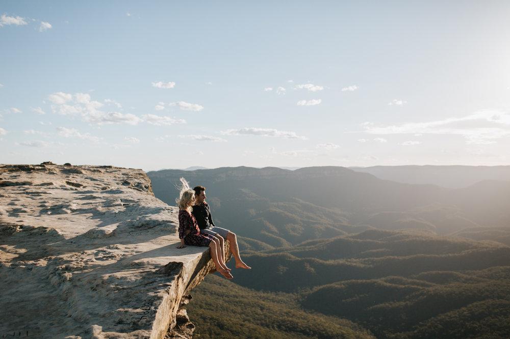 Emma & Ben - Blue Mountain Sunset Engagement - Samantha Heather Photography-12.jpg