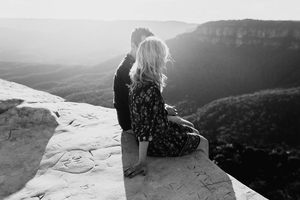 Emma & Ben - Blue Mountain Sunset Engagement - Samantha Heather Photography-14.jpg