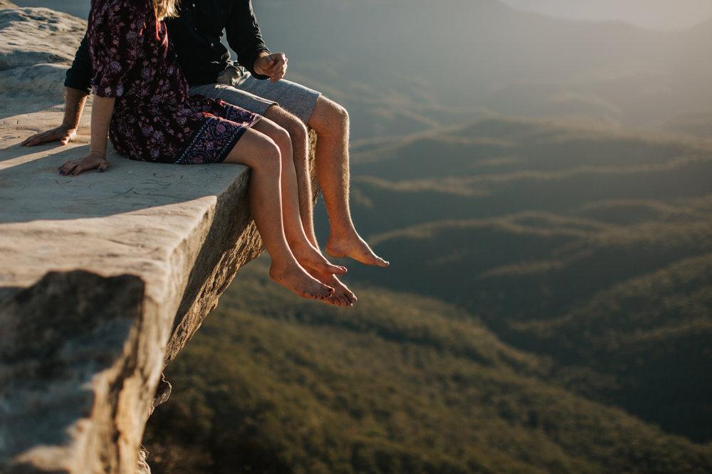 Emma & Ben - Blue Mountain Sunset Engagement - Samantha Heather Photography-18.jpg