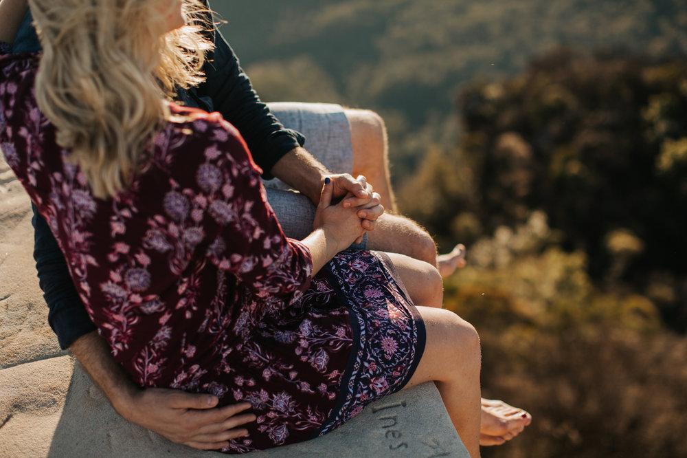 Emma & Ben - Blue Mountain Sunset Engagement - Samantha Heather Photography-21.jpg