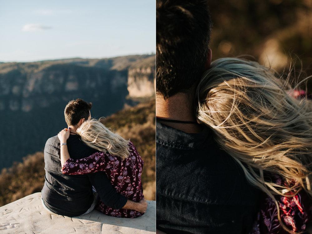Emma & Ben - Blue Mountain Sunset Engagement - Samantha Heather Photography-22.jpg