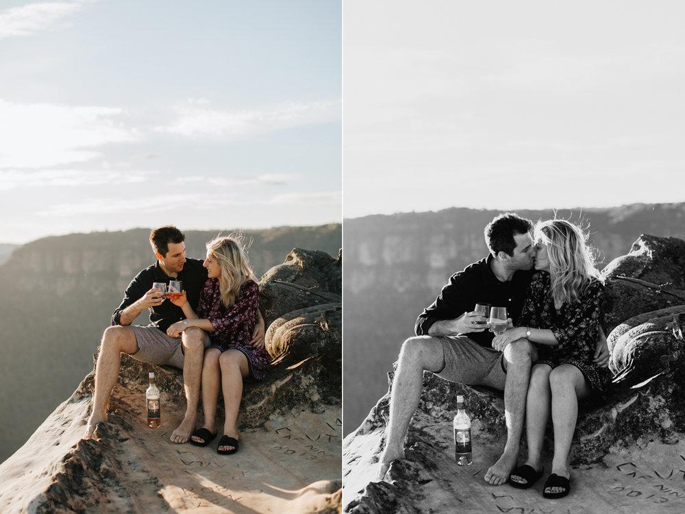 Emma & Ben - Blue Mountain Sunset Engagement - Samantha Heather Photography-26.jpg