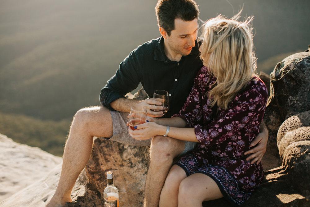 Emma & Ben - Blue Mountain Sunset Engagement - Samantha Heather Photography-28.jpg