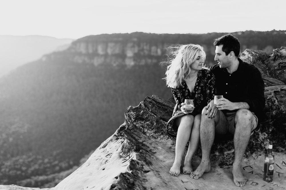 Emma & Ben - Blue Mountain Sunset Engagement - Samantha Heather Photography-29.jpg