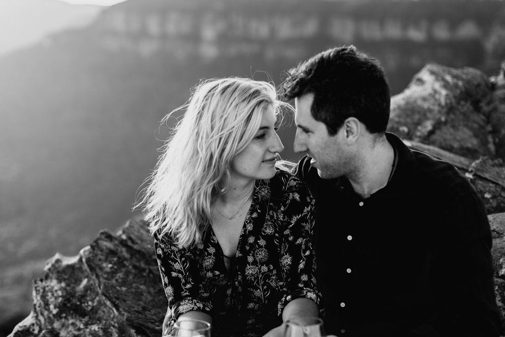 Emma & Ben - Blue Mountain Sunset Engagement - Samantha Heather Photography-30.jpg