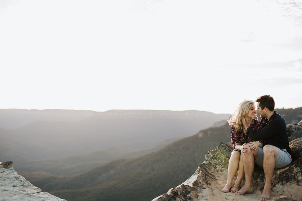 Emma & Ben - Blue Mountain Sunset Engagement - Samantha Heather Photography-35.jpg