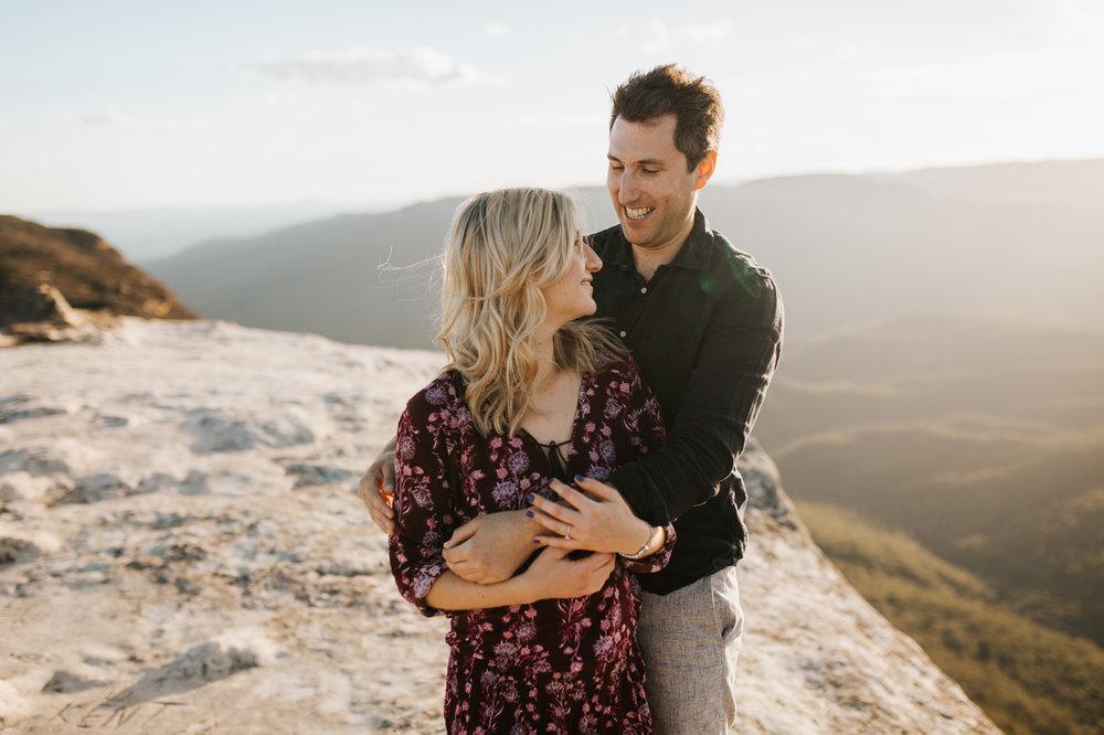Emma & Ben - Blue Mountain Sunset Engagement - Samantha Heather Photography-38.jpg