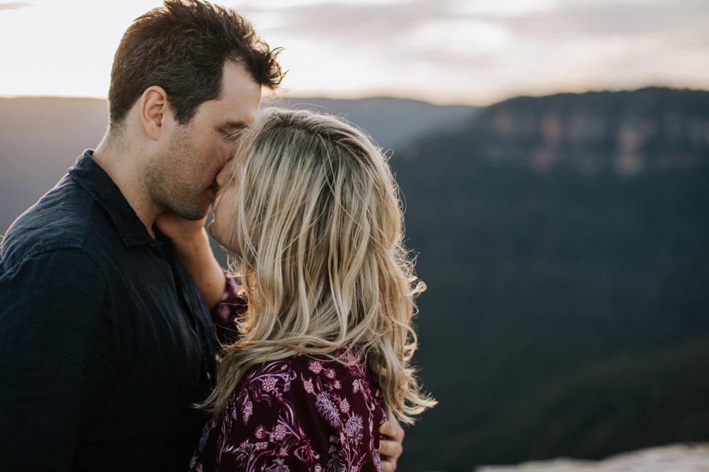 Emma & Ben - Blue Mountain Sunset Engagement - Samantha Heather Photography-64.jpg