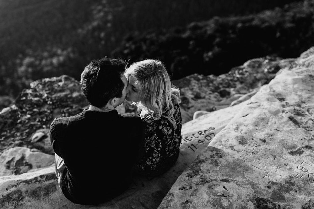 Emma & Ben - Blue Mountain Sunset Engagement - Samantha Heather Photography-72.jpg
