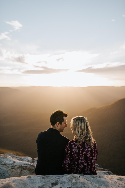 Emma & Ben - Blue Mountain Sunset Engagement - Samantha Heather Photography-71.jpg